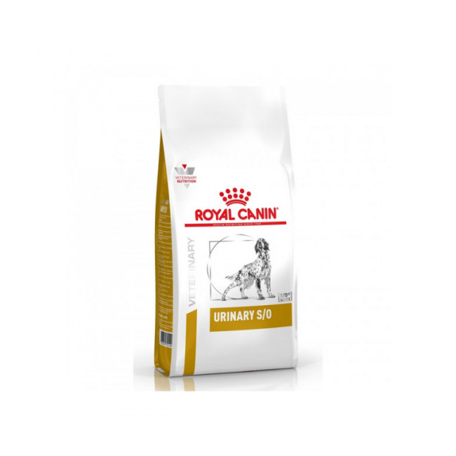 Croquettes Veterinary Diet Urinary S/O pour chien Royal Canin
