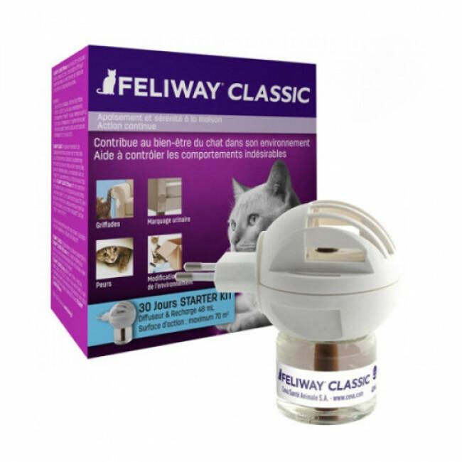 Diffuseur Feliway Classic phéromone pour chat