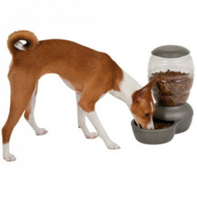 Distributeur automatique de croquettes pour chien Petmate