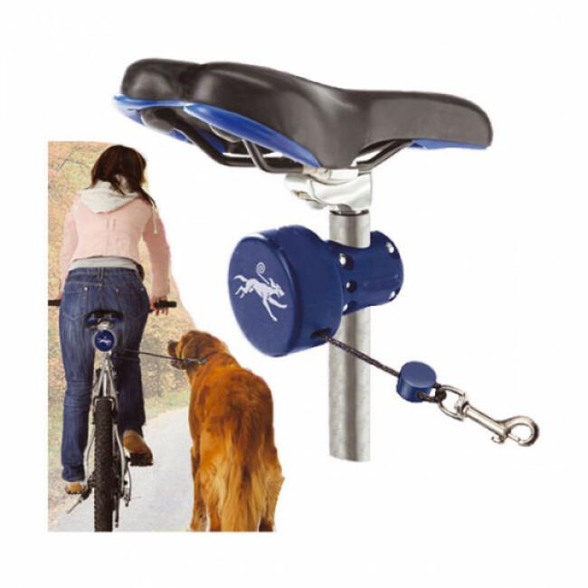 Dog Roll Laisse promenade pour vélo Bike Joring