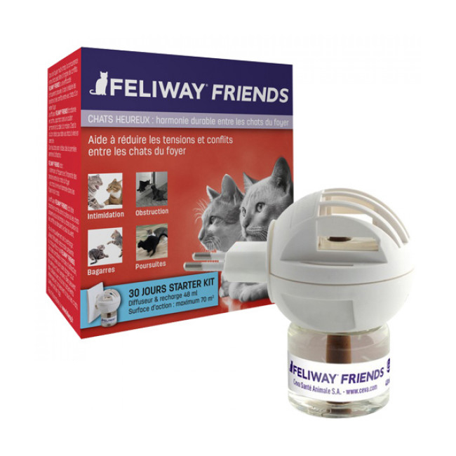 Friends phéromone Feliway pour chat