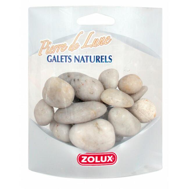 Galets naturels Pierre de Lune Zolux pour aquarium