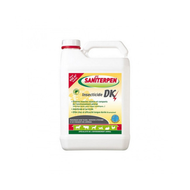 Insecticide d'extérieur DK Choc Saniterpen
