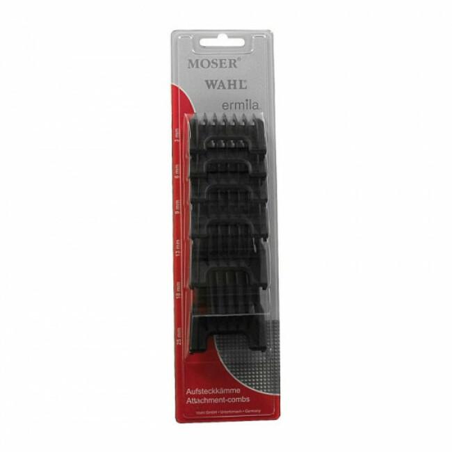 Contre peignes pour tondeuses Moser 1400, Rex, Arco