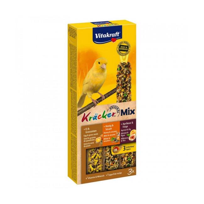 Kracker pour canaris au Miel/Fruits/Oeufs Vitakraft
