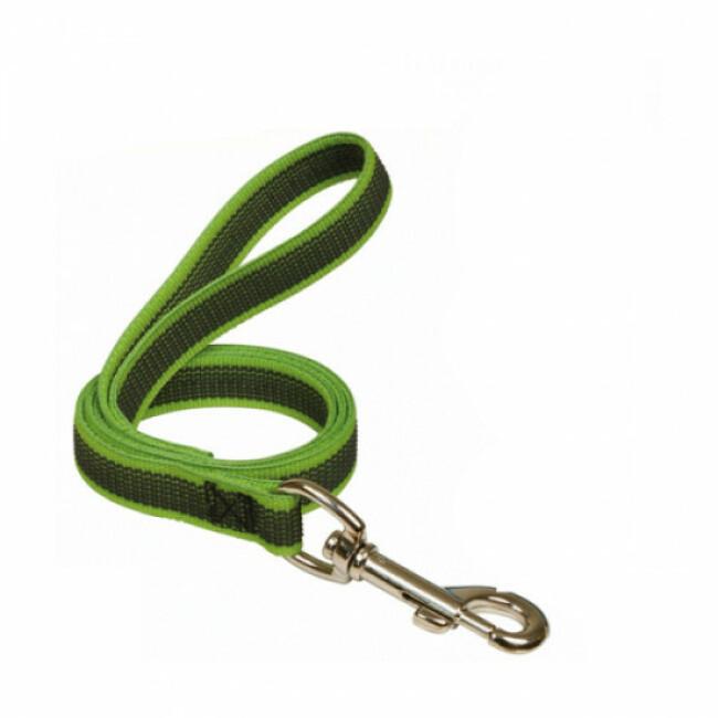 Laisse antidérapante Gommelaisse™ Color avec poignée pour chien