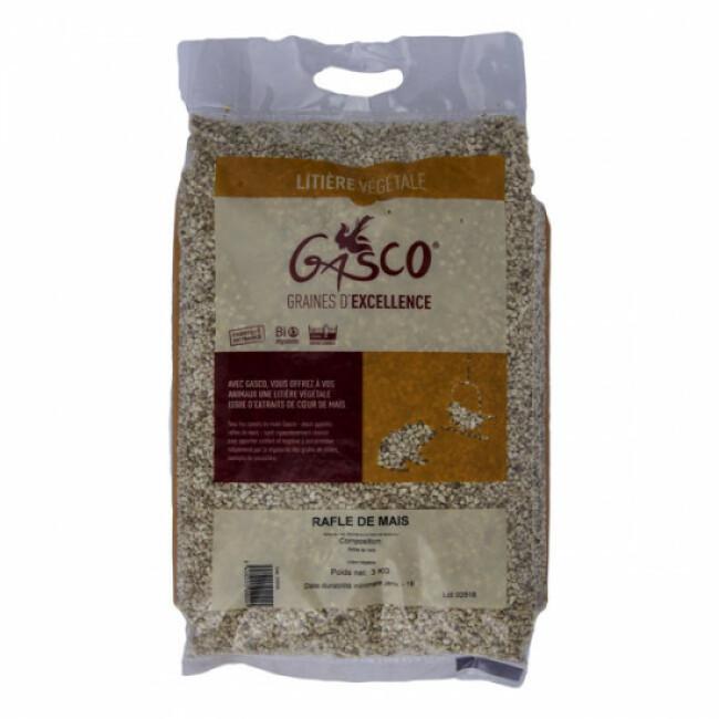 Litière végétale Rafle de maïs Gasco