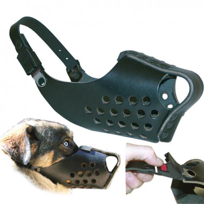 Muselière mixte de frappe pour chien de sécurité