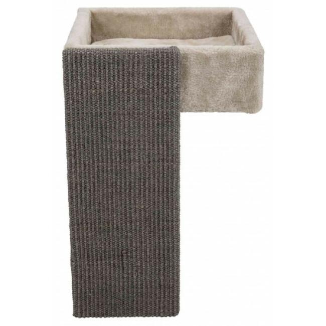 Panier confortable avec griffoir pour étagère