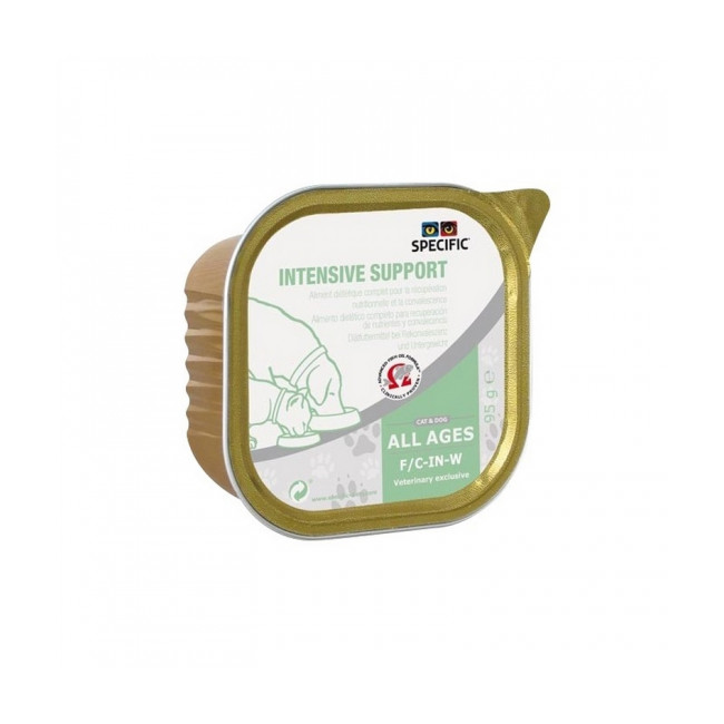 Pâtée Specific pour chiens et chats F/C-Recovery-W Intensive Support 7 boîtes 95 g