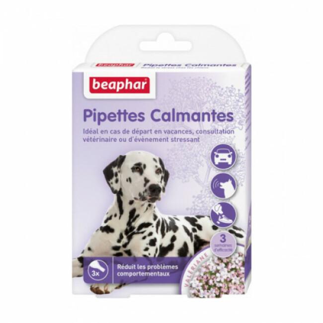 Pipettes calmantes pour chien à base de Valériane Beaphar