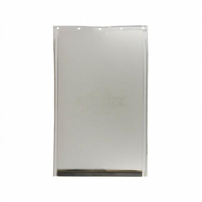 Porte Staywell Petsafe grand modèle en aluminium pour chien