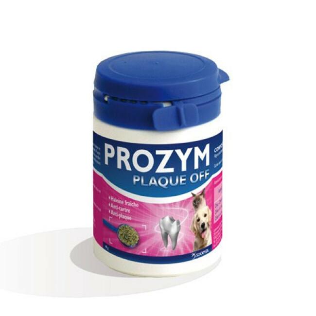 Prozym Plaque Off soin et hygiène dentaire pour chiens et chats