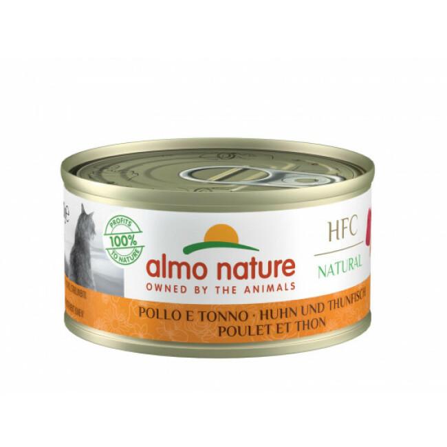 Pâtée pour chat Almo Nature HFC Natural - Lot de 6 x 70 g