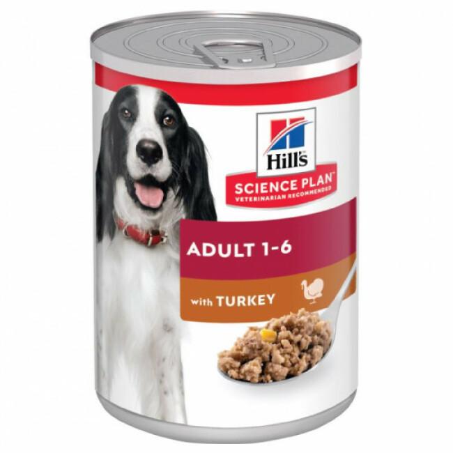 Pâtée pour chien adulte Science Plan Canine Hill's - Lot de 12 boîtes de 370 g