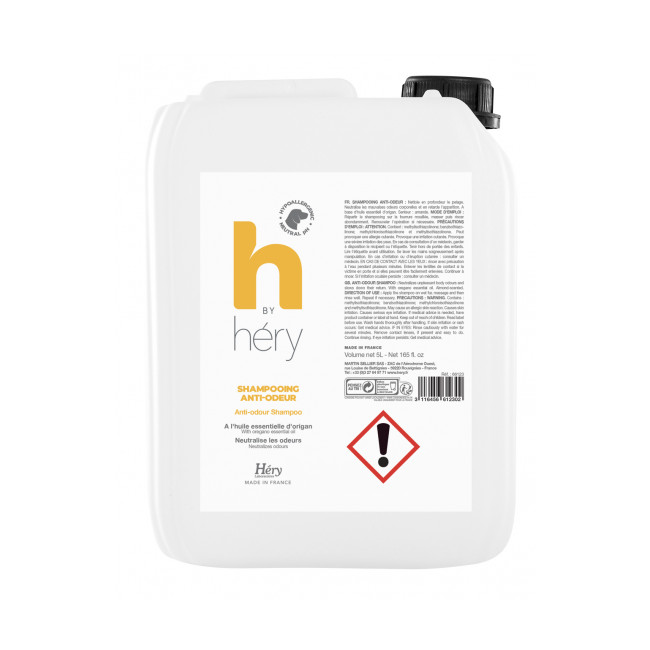 Shampoing anti-odeurs pour chien H By Hery