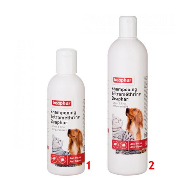 Shampoing anti parasitaire Beaphar pour chien et chat