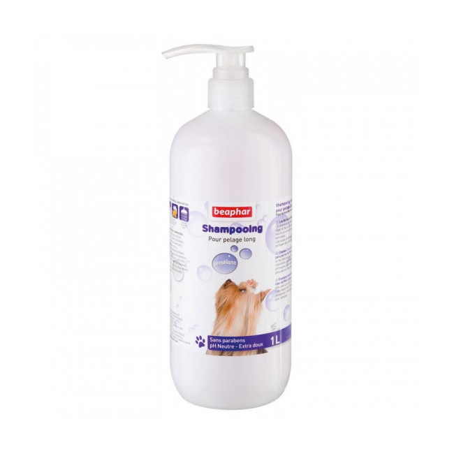 Shampoing démêlant Beaphar pour chien à poils longs