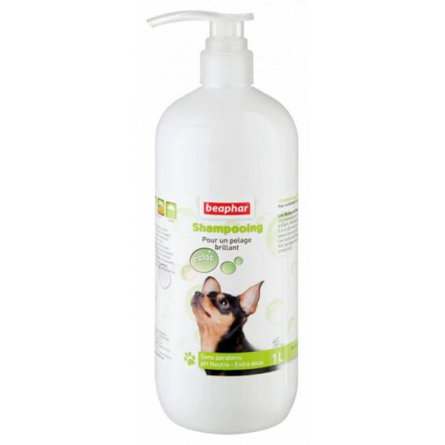 Shampoing éclat du pelage à l'Huile de Macadamia Beaphar pour chien 1 litre
