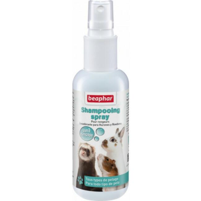 Shampoing spray sans rinçage pour rongeurs Beaphar