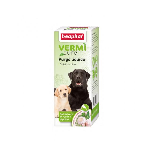 Solution de purge Vetonature aux plantes pour chien Beaphar flacon de 50 ml