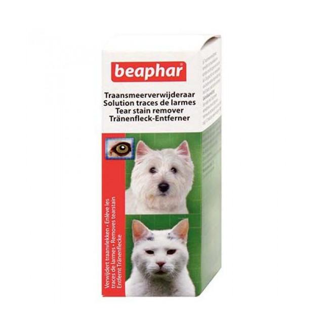 Solution pour chat et chien contre les traces de larmes