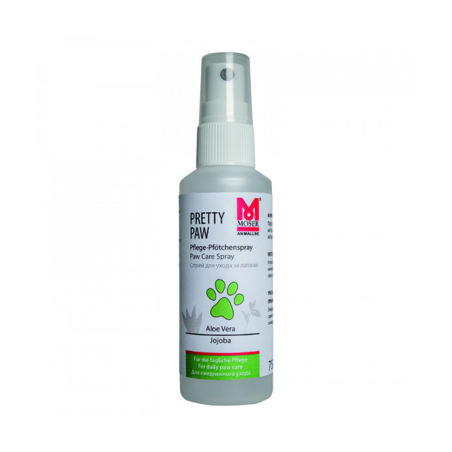 Spray soin des coussinets pour chien et chat Pretty Paw Moser