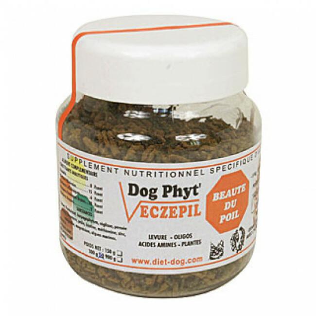 Supplément nutritionnel beauté du pelage pour chien Eczepil Diet Dog