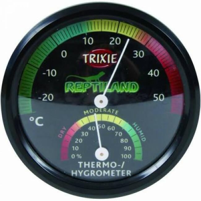 Thermomètre hygromètre analogique Reptiland Trixie