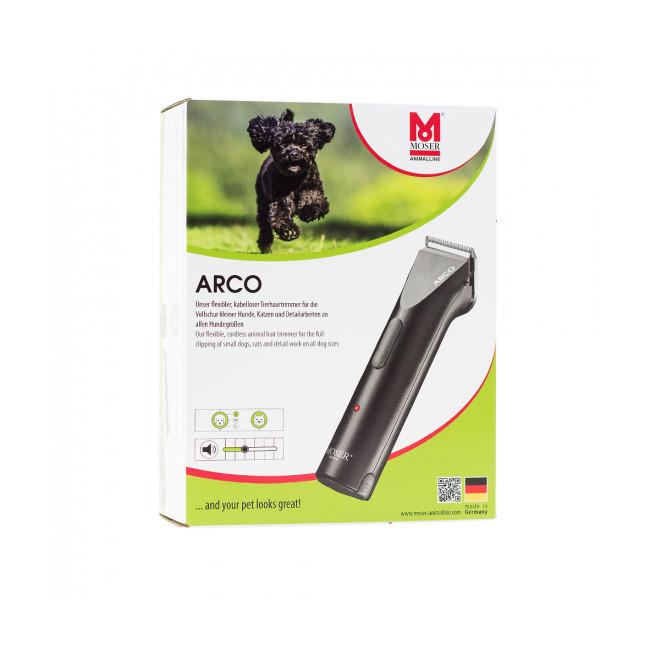 Tondeuse rechargeable MOSER ARCO 1854 pour chien