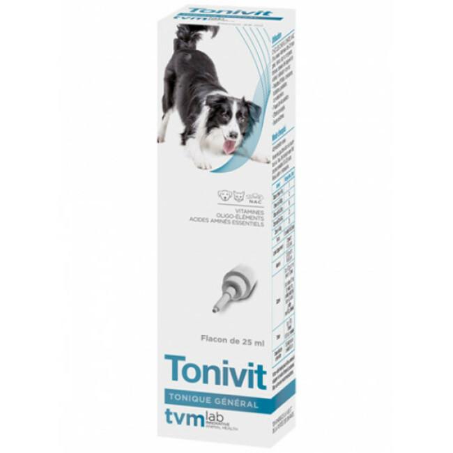 Tonivit énergisant tonique pour chien, chat ou nac