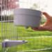Image 2 - Ecuelle de cage et parc avec support plastique