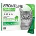 Image 1 - Frontline anti puce et tique Spot on Combo pour chat