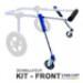 Image 1 - Kit-Front déambulateur Canis-Cart Liberty® pour chien handicapé ou paralysé