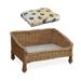 Image 1 - Lit canapé en osier pour chien et chat