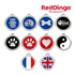 Image 1 - Médaille Reddingo pour personnaliser chien, chat et maître