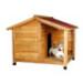 Image 1 - Niche chalet en bois Natura Trixie pour chien