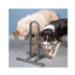 Image 2 - Support double gamelle Vario Trixie avec réglage hauteur individuel