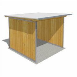 Abri de jardin en bois multi-usages - 2,03 x 2,03 cm