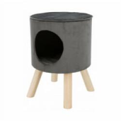 Abri grotte Livia avec pieds en bois Trixie pour chat 38 x 50 cm
