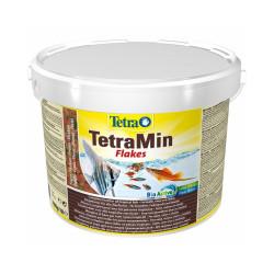 Alimentation Tetra Tetramin pour poissons exotiques Contenance 10 litres