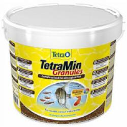 Alimentation TetraMin Granules pour poissons Contenance 10 L
