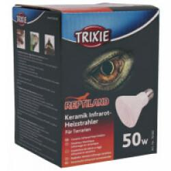 Ampoule chauffante infrarouge en céramique Trixie pour terrarium Puissance 50 W