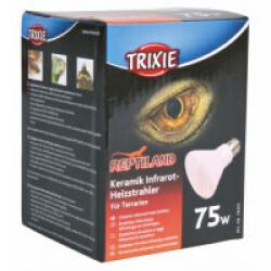 Ampoule chauffante infrarouge en céramique Trixie pour terrarium Puissance 75 W