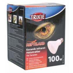 Ampoule chauffante infrarouge en céramique Trixie pour terrarium Puissance 100 W