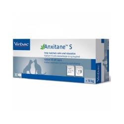 Anxitane contre le stress et l'anxiété pour chien et chat -10kg Boite S 30 cps 50 mg