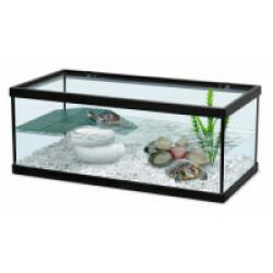 Aquarium Tortum noir Terratlantis pour tortue d'eau Modèle 40