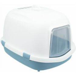 Bac à litière bleu / blanc Primo Trixie XXL