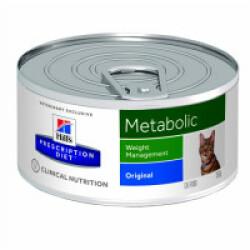 Boîtes Hill's Prescription Diet Feline Metabolic 24 Boîtes de 156 g