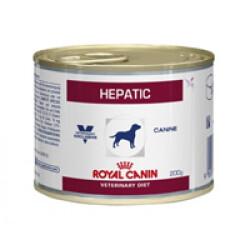 Boîtes Royal Canin Veterinary Diet Hepatic pour chiens 12 boîtes 200 g (Fin de DLUO)